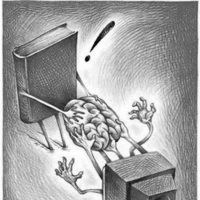 книга или телек