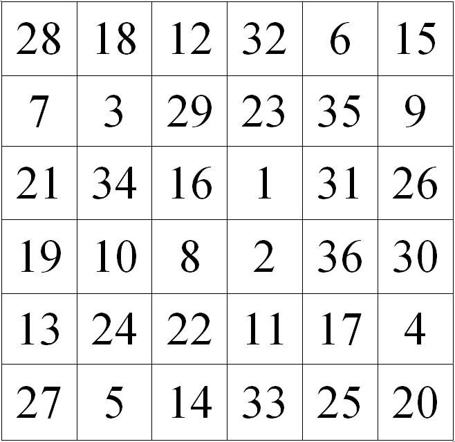 таблицы шульте с картинками вместо цифр чт-то там бормочет